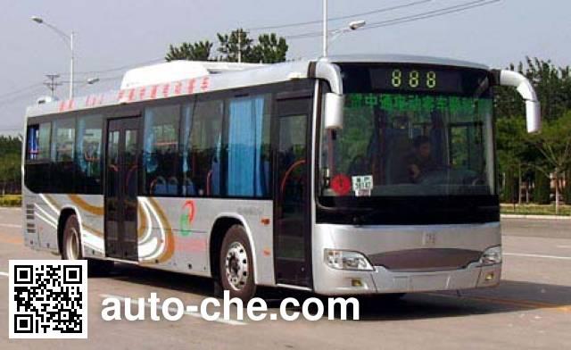 中通牌LCK6110GHEV混合动力城市客车