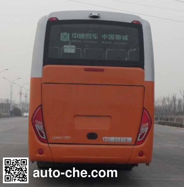 中通牌LCK6109EV纯电动客车