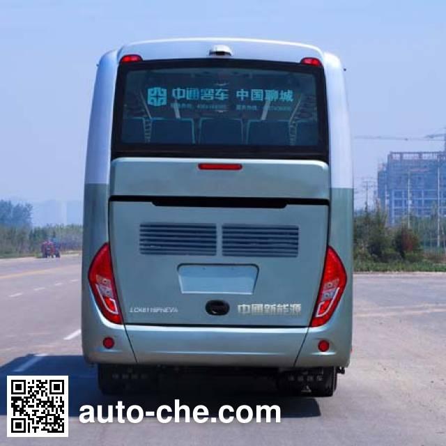 Zhongtong LCK6118PHEVA plug-in hybrid bus