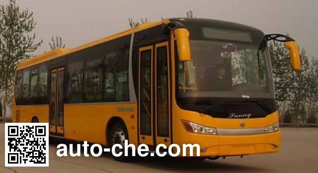 中通牌LCK6120GHEV混合动力城市客车