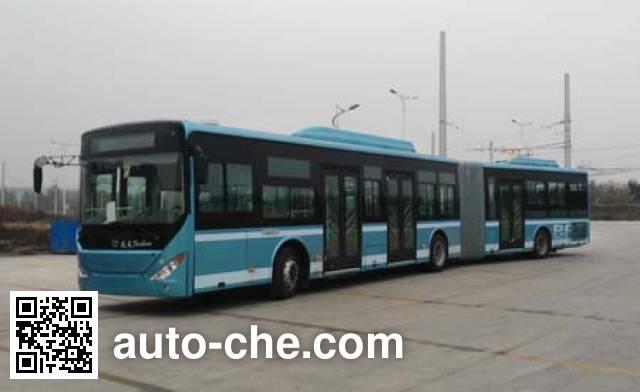 中通牌LCK6180H5QG铰接式城市客车