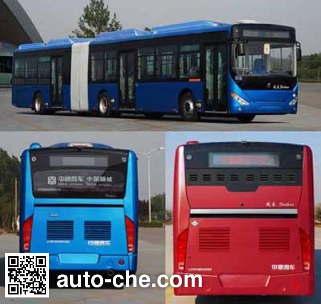 中通牌LCK6180HQGNA铰接式城市客车