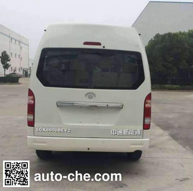 Zhongtong LCK6600BEV2 electric bus