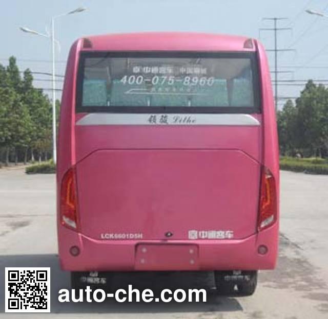 中通牌LCK6601D5H客车
