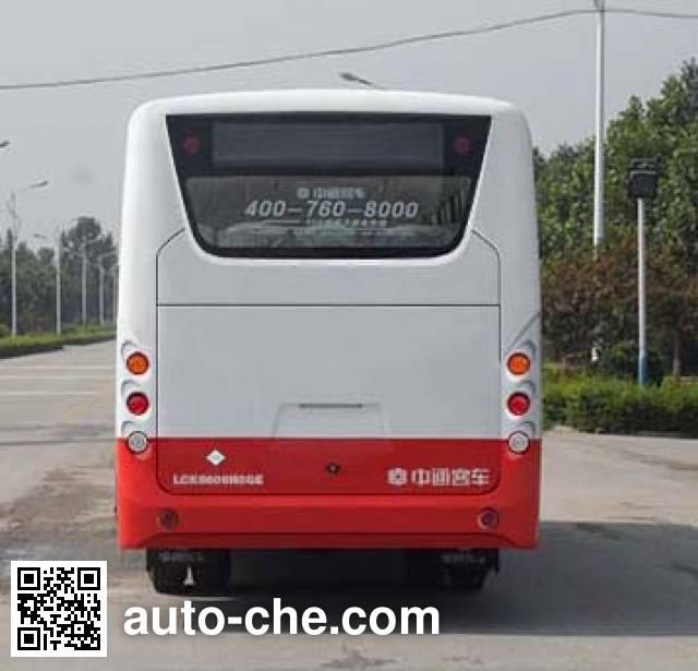中通牌LCK6606N5GE城市客车