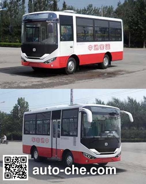中通牌LCK6606D5GE城市客车