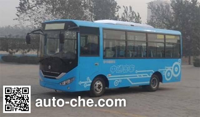 中通牌LCK6660EVG纯电动城市客车