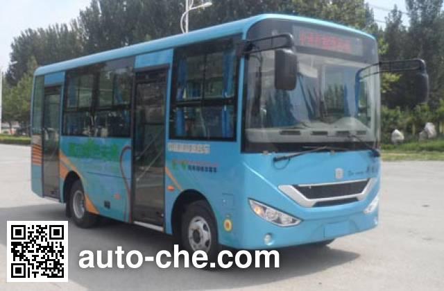 中通牌LCK6669EVG纯电动城市客车