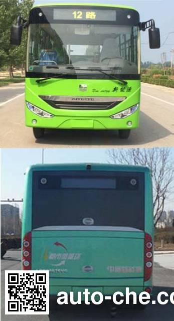 中通牌LCK6660EVG2纯电动城市客车