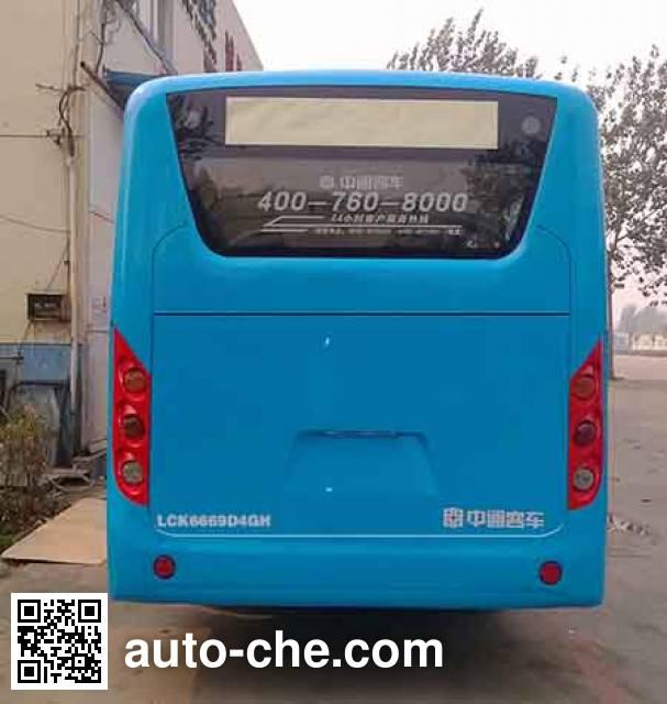 Zhongtong LCK6669D4GH city bus