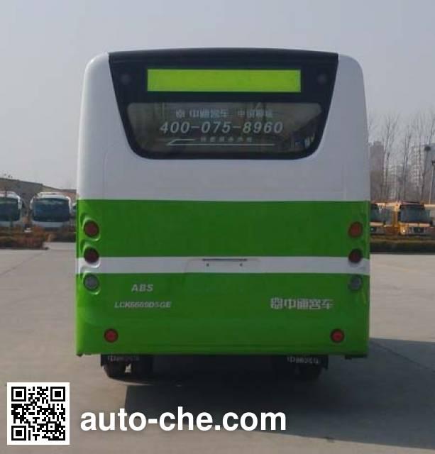 Zhongtong LCK6669D5GE city bus