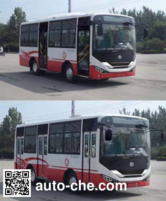 中通牌LCK6722D5GH城市客车