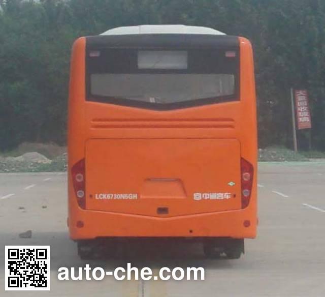 Zhongtong LCK6730N5GH city bus