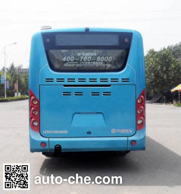 Zhongtong LCK6740D4GRH city bus