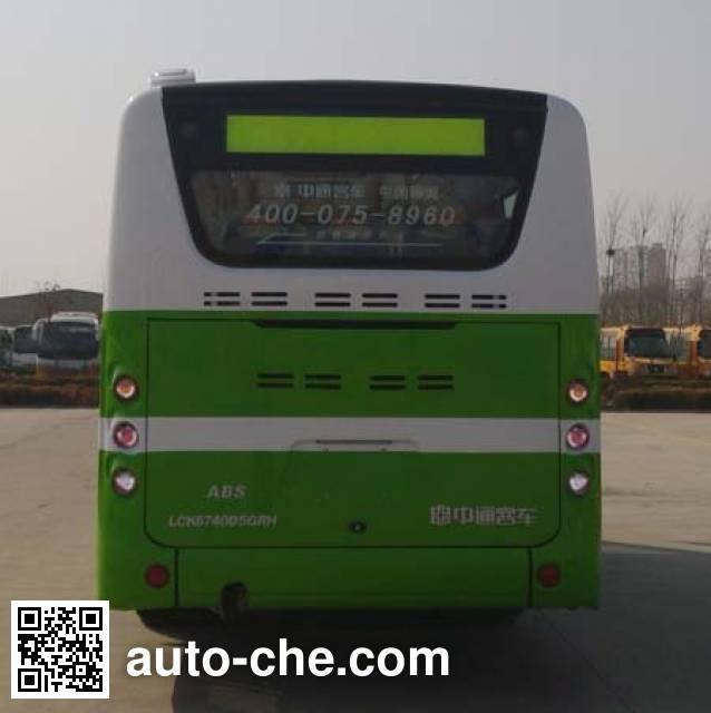 Zhongtong LCK6740D5GRH city bus