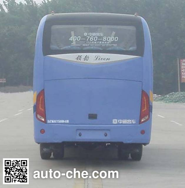 Zhongtong LCK6750D4H bus