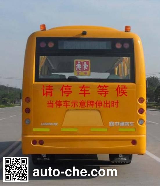 Zhongtong LCK6801DXA primary school bus