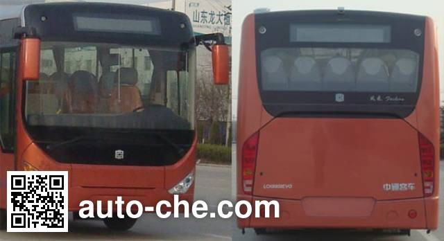 Zhongtong LCK6809EVG8 electric city bus