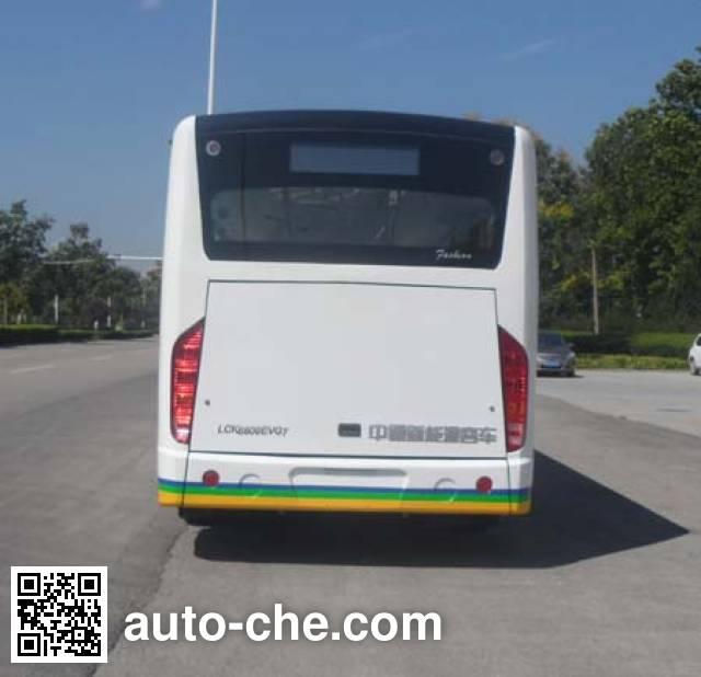 中通牌LCK6809EVG10纯电动城市客车