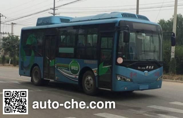 中通牌LCK6810EVG7纯电动城市客车