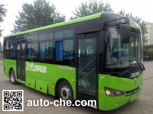 中通牌LCK6815EVG1纯电动城市客车