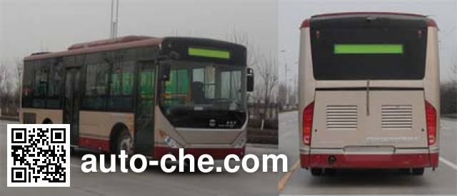 Zhongtong LCK6820PHENV hybrid city bus