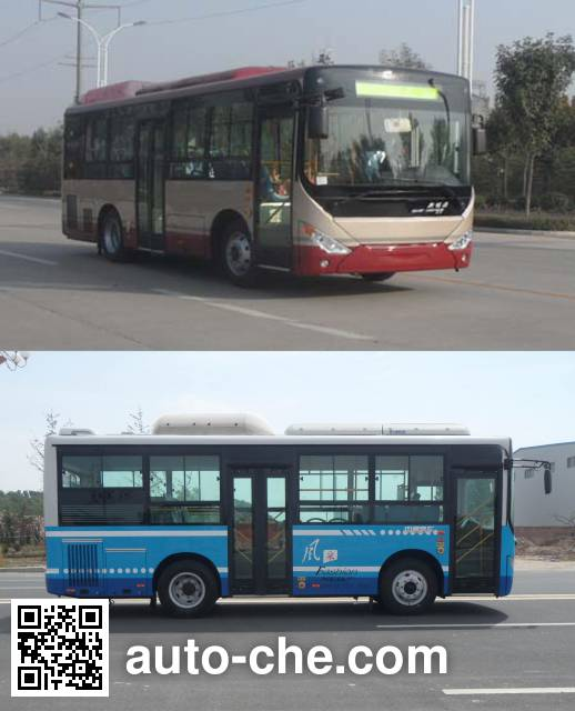 Zhongtong LCK6850PHEV5QNG hybrid city bus