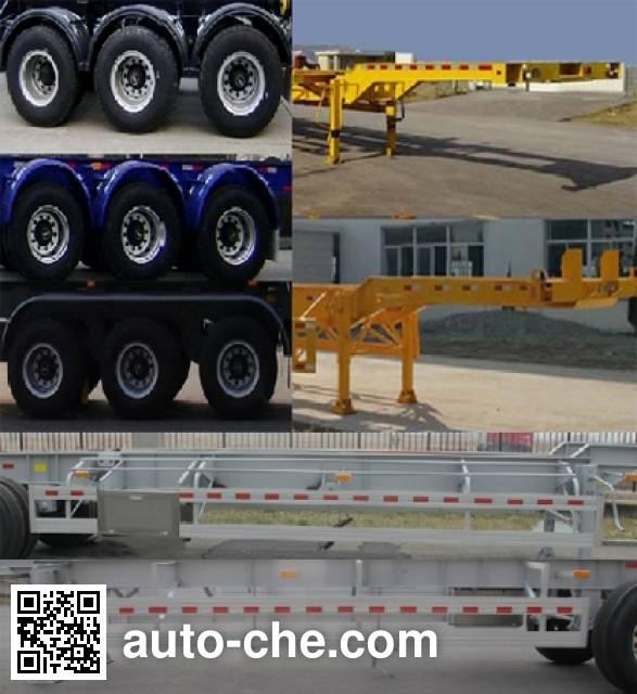 Conglin LCL9402TJZ aluminium container trailer