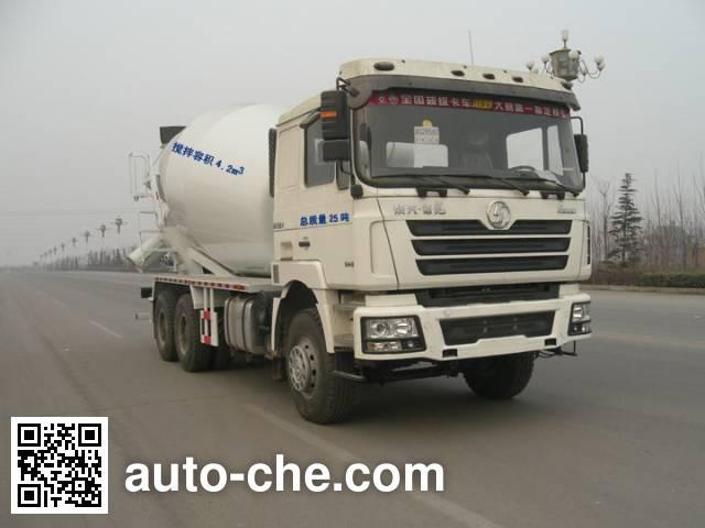 利达牌LD5255GJBJR424混凝土搅拌运输车