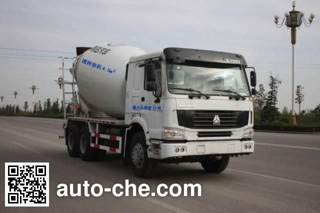 利达牌LD5257GJBN3847D混凝土搅拌运输车
