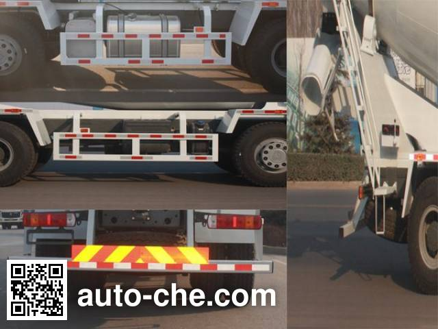 利达牌LD5317GJBN3667D1混凝土搅拌运输车