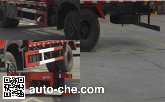 Dongju LDW5160TJZZZ4D container transport truck