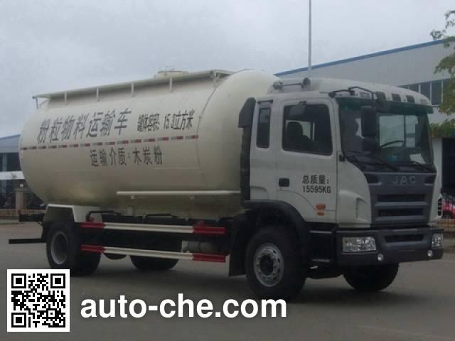 福狮牌LFS5160GFLHF低密度粉粒物料运输车