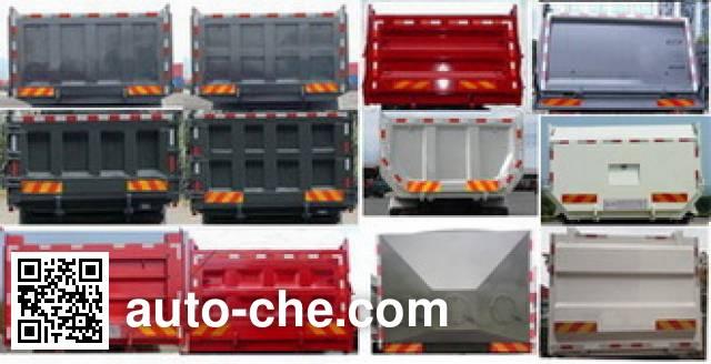 Fushi LFS3317LQA dump truck