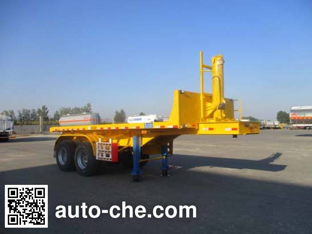 Jiayun LFY9350ZZXP flatbed dump trailer