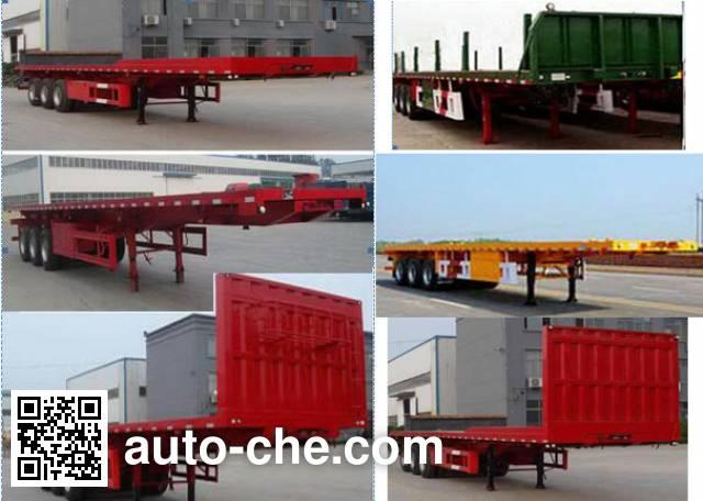 Jiayun LFY9404ZZXP flatbed dump trailer