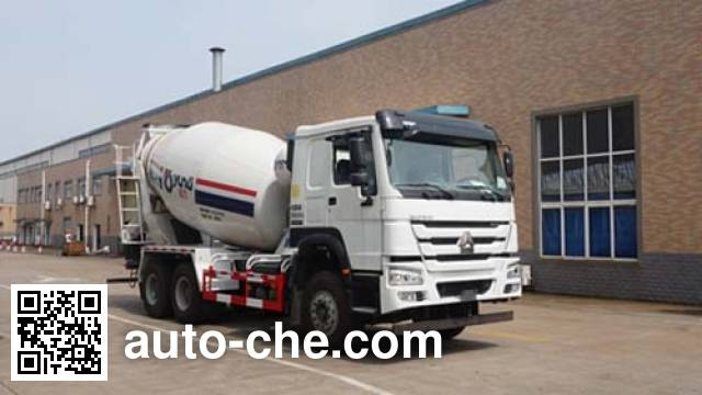 运力牌LG5250GJBZ5混凝土搅拌运输车