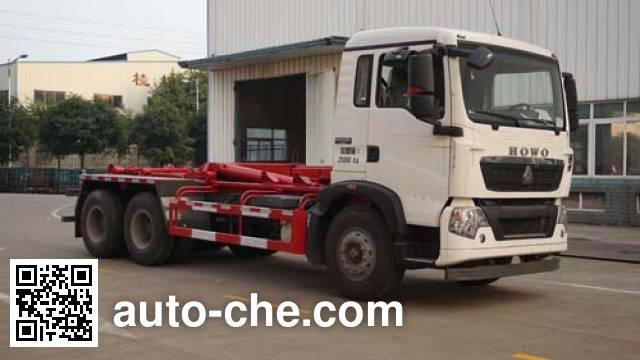 Yunli LG5250ZXXZ detachable body garbage truck
