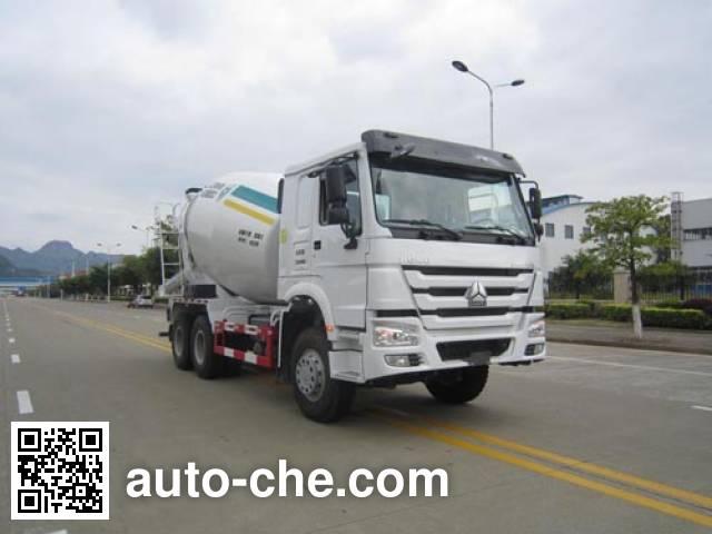 运力牌LG5253GJBZ4混凝土搅拌运输车