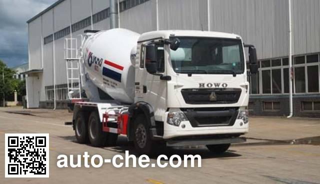 运力牌LG5256GJBZ5混凝土搅拌运输车