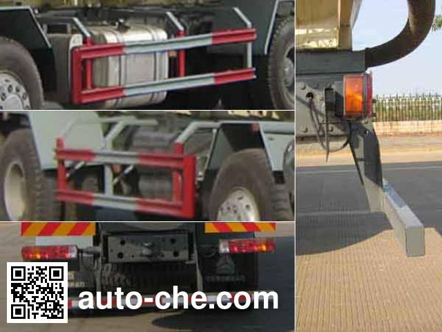 运力牌LG5314GFLZ粉粒物料运输车