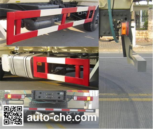 Yunli LG5314GFLZ4 low-density bulk powder transport tank truck