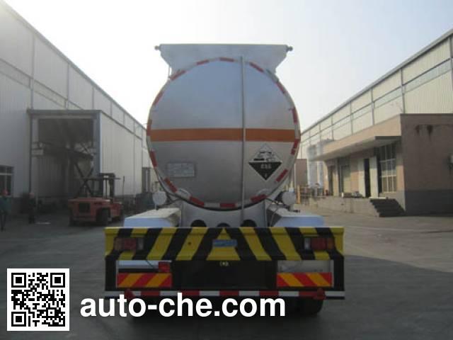Yunli LG9402GFW corrosive materials transport tank trailer