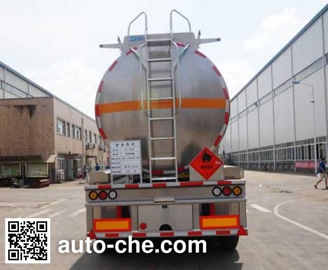 Yunli LG9402GRY flammable liquid aluminum tank trailer