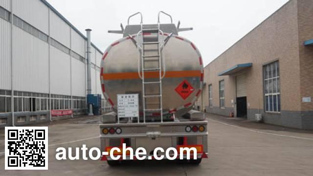 Yunli LG9409GYY aluminium oil tank trailer