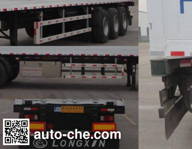Longgua LGC9400XLCE refrigerated trailer