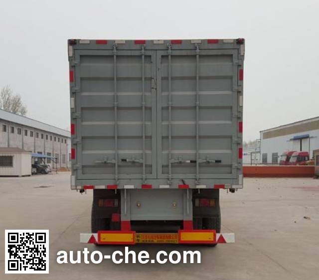 Longgua LGC9400XXY box body van trailer