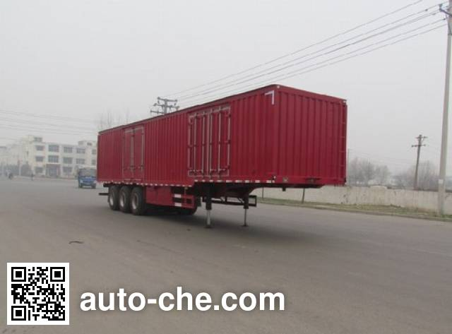 Feilun LHC9402XXY box body van trailer