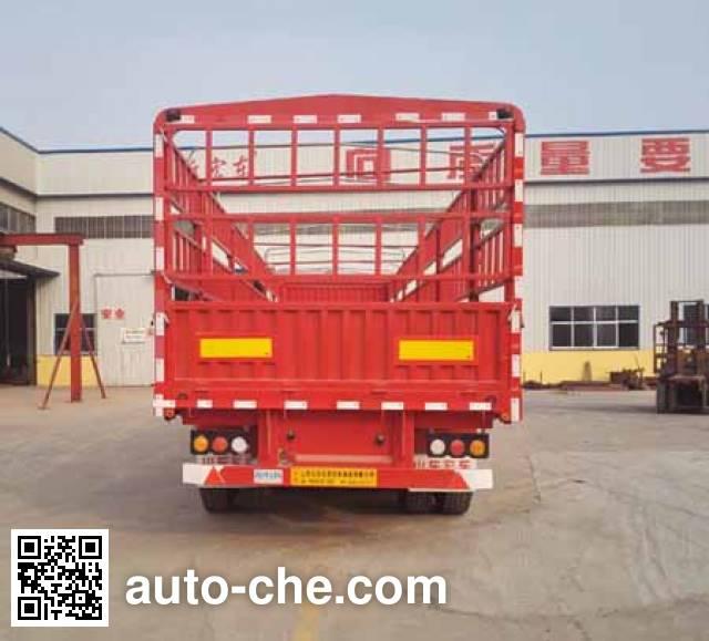 Xinhongdong LHD9400CCYE stake trailer