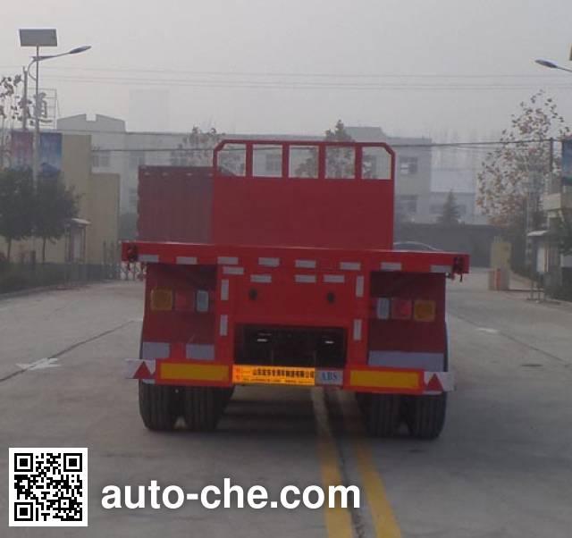 Xinhongdong LHD9400TPB flatbed trailer